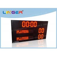 Buy cheap UV Protection LED Electronic Scoreboard For Beach Volleyball Easy Operation  from wholesalers