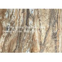 Buy cheap Dark Color PET Heat Transfer Foil Faux Marble Roll For PS Material Board from wholesalers