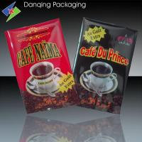 Buy cheap Personalized Coffee Packaging Bags / Fin Seal Bags For Coffee Beans Packaging from wholesalers