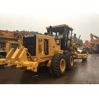 Buy cheap 138kW Used Wheel Motor Grader CAT 140H for Road Maintainance Using from wholesalers