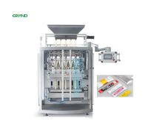 Buy cheap Granule Sachet Packing Machine Automatic Back Sealing Multi Line BK680 product