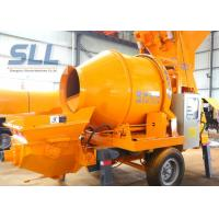Buy cheap Professional Towable Concrete Pump / Portable Concrete Pump Flexible Moving Type from wholesalers