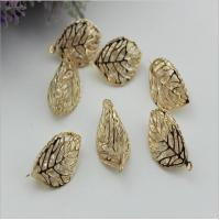 Buy cheap Handmade DIY alloy gold leaves diamond ball pendant bracelet necklace for  bag/ clothing accessories from wholesalers
