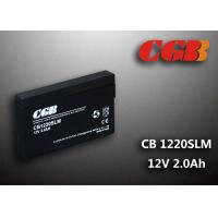 Buy cheap 12V 1.8Ah CB1220SLM  Non - Spillable charging lead acid batteries Maintenance Free from wholesalers