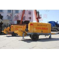Buy cheap S Tube Valve Cement Mixer Pump , Lift Small Shotcrete Pump With Mixer from wholesalers
