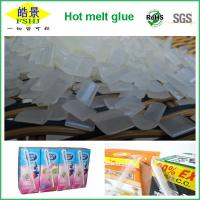 Buy cheap EVA Resin Hot Melt Adhesive / Book Binding Adhesive Glue For Straw Drinking Box from Wholesalers