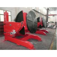 Buy cheap Industrial Head Tail Conventional Rotary Welding Positioners , Automatic Welding Turntable from wholesalers