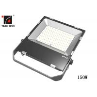 Buy cheap CE Black Outdoor LED Flood Lights 150 Watt Power High Weatherability from wholesalers