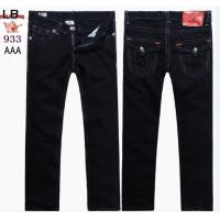 Buy cheap True Religion New Style Men's Black Wash Straight Jeans 933 from wholesalers
