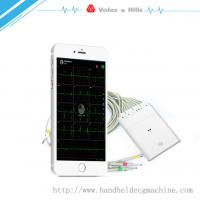 Buy cheap New Handheld ECG Buletooth WIFI ECG Machine For IOS Work With IPad from wholesalers