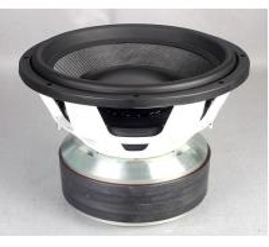 Buy cheap Custom Design SPL Car Subwoofers Fiber + Paper Cone Speakers Anti Dust product