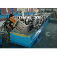 Buy cheap Half Round Water down Gutter Profile Cold Roll Forming Machine from wholesalers