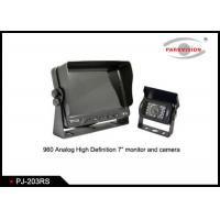 """Buy cheap 4.3"""" Color Bus Reverse Camera Monitor With Camera And Ultrasonic Sensors product"""