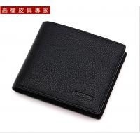 Buy cheap man genuine leather wallet cow leather wallet from wholesalers