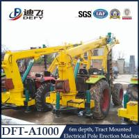 Buy cheap Telephone Pole Pile Driver Machine DFT-A1004 from wholesalers