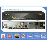Buy cheap Full Auto VU G SKY V6 DVB HD Receiver Digital Satellite Receiver Support IKS from wholesalers