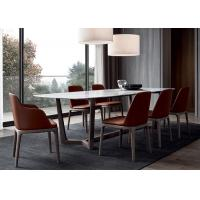 Buy cheap Rectangle Marble Top Table And Chairs Commercial Restaurant Furniture from wholesalers