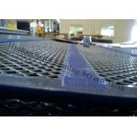 Buy cheap Heavy Duty Wire Mesh Screen With Polyurethane Stringer 35mm For Quarry Equipment from wholesalers