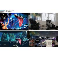 Buy cheap 6 / 12 / 18 / 36 Persons 6D Movie Theater With Visual Impact, Special Effect System product