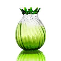 Buy cheap Green Glass Craft Colored Glass Vase for KTV , Interior Decoration from wholesalers