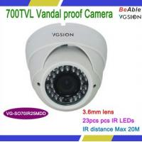 Buy cheap Effio-e 700 TVL Vandal proof Dome Camera from wholesalers