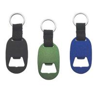 Buy cheap Custom Metal Keychain Beer Bottle Opener With Engraved Or Epoxy Logo from wholesalers