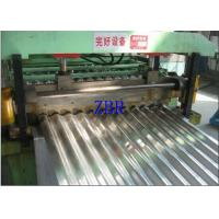 Buy cheap Wall Panel Glazed Tile Roll Forming Machine , Corrugated Sheet Making Machine product