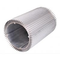 Buy cheap Round Aluminum Alloy Extrusion Heat Sink Silvery For Motorcycle from wholesalers