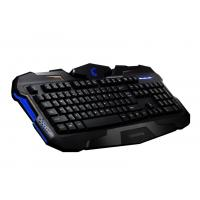 Buy cheap Customized Ergonomic Membrane Gaming Keyboard , gaming pc keyboards With CE  FCC ROHS from wholesalers