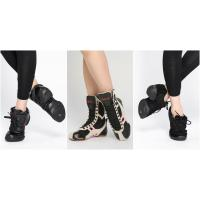 Buy cheap Dttrol Classic black Dance Sneakers from wholesalers