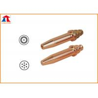 Buy cheap Copper Acetylene Propane Gas Cutting Nozzle With Cutting Thickness Reach To 300mm from wholesalers