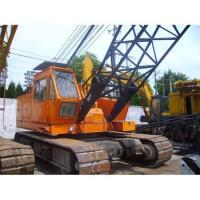 Buy cheap Kobelco used crawler crane 50ton, full-hydraulic, nice working conditions from wholesalers