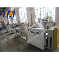 Buy cheap White Plastic Profile Extrusion Line , PC PMMA round Tube Extrusion Machine from wholesalers