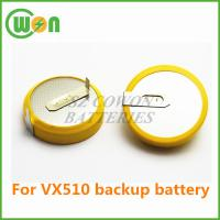 Buy cheap 3V CR2354 with solder pins tabs batery for Verifone VX510 CR2354 battery for VX510 backup battery from wholesalers