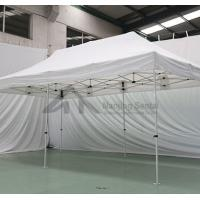Buy cheap durable hexagon metal customized event gazebo beach tents large advertising pop up 3x3 canopy tent for events from wholesalers