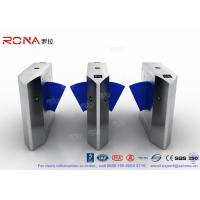 Buy cheap High End Flap Barrier Gate / Flap Barrier Turnstile Attendance For Entrance Control from wholesalers