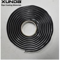 Buy cheap Butyl Rubber Filler Pipe Protection Tape 3/8 Round 15 Feet Long Black Or Gray Color from wholesalers
