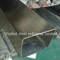 Buy cheap OD 6mm - 660mm Stainless Steel Welded Pipe Square Cold Drawing 300 Series from wholesalers