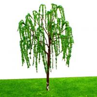 Buy cheap 10 Willow Miniature Model Trees Train Railroad Garden Park Lake Scene 1:75-100 Layout 6cm from wholesalers