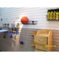 Buy cheap Slot PVC Slatwall Panel Slatwall Display Board For Garage Wall Covering from wholesalers