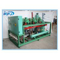Buy cheap DM3B20RFL Air cooled two screw compressor condensing unit R404 380V 50HZ 3 numbers compressor product