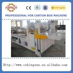 Buy cheap corrugated carton box folder gluer machinery,box forming machines from wholesalers