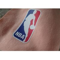 Buy cheap High elastic falt silicon heat transfer  printing logo for sportswear from wholesalers