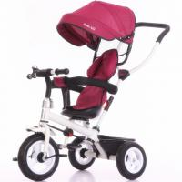 Buy cheap China factory purple color baby tricycle new models with push bar Tricycle bike for kids from wholesalers