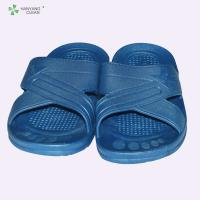 Buy cheap Multi Color Soft Anti Static Slippers Safety Shoes With Rubber Outsole Material from wholesalers