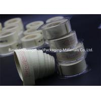 Buy cheap High Temperature Tolerance Kevlar Fabric Tape , Aramid / Flax Garniture Belt Tape product