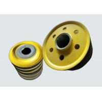Buy cheap Stainless Steel Overhead Crane Parts Steel Rope Crane Lifting Pulleys from wholesalers