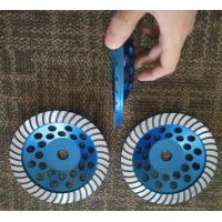 Buy cheap 7 Turbo Cup Wheel Diamond Grinding Disc For Concrete and Stone Grinding from wholesalers