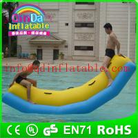 Buy cheap QinDa Hot sale inflatable water games teeterboard inflatable water seesaw from wholesalers