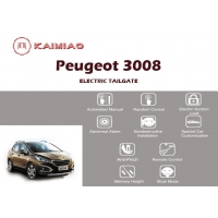 Buy cheap Electric Power Tailgate Lift Kits , Peugeot 3008 The Power Hands Free Smart Liftgate from wholesalers